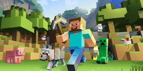 Minecraft é um sandbox que permite dar asas à imaginação.