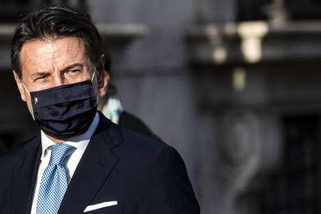 O primeiro-ministro da Itália, Giuseppe Conte, proporá prorrogação do estado de emergência ao Parlamento
