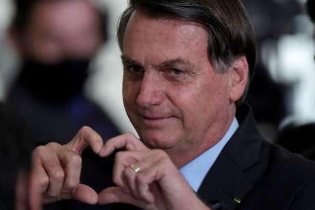 Presidente Jair Bolsonaro após cerimônia no Palácio do Planalto 30/09/2020 REUTERS/Ueslei Marcelino