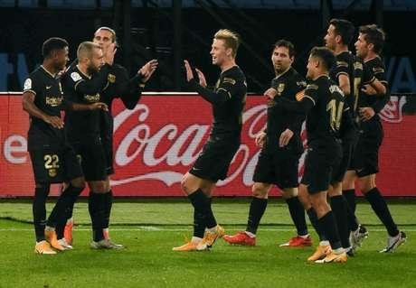 Barcelona chegou aos seis pontos em dois jogos disputados (Foto: MIGUEL RIOPA / AFP)