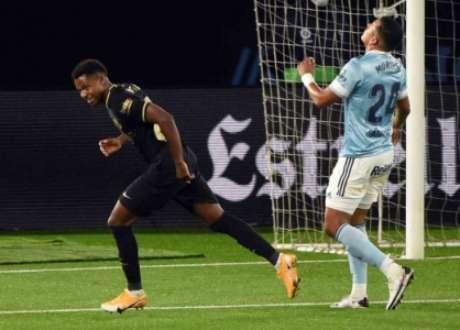 Ansu Fati abriu o placar do jogo (Foto: MIGUEL RIOPA / AFP)