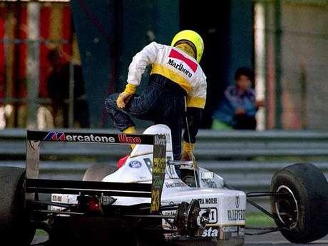 Christian Fittipaldi fez as duas primeiras temporadas na Fórmula 1, 1992 e 1993, pela Minardi