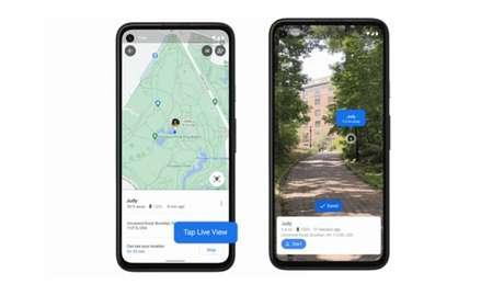 Google Maps ganha compartilhamento de localização com Live View