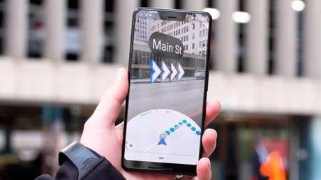 Google Maps testa modo de realidade aumentada para rotas a pé