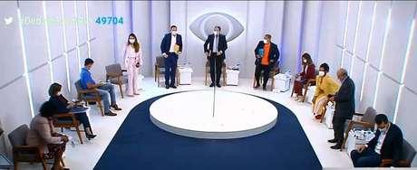 TV Band realizou o primeiro debate entre candidatos à prefeitura do Rio