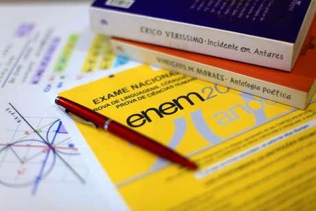 MEC divulga novo calendário da prova do ENEM, fotos ilustrativas, na cidade de São Paulo, SP, nesta quarta feira, 08