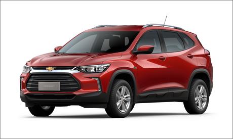 Chevrolet Tracker LT: versão de entrada com câmbio automático de seis marchas e motor 1.0 turbo.