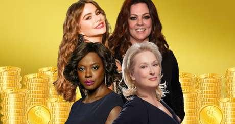 Acima, Sofia Vergara e Melissa McCarthy; abaixo, Viola Davis e Meryl Streep: atrizes engajadas contra os preconceitos de Hollywood