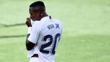 Vinicius Junior tem sido destaque do Real neste início de temporada (AFP)