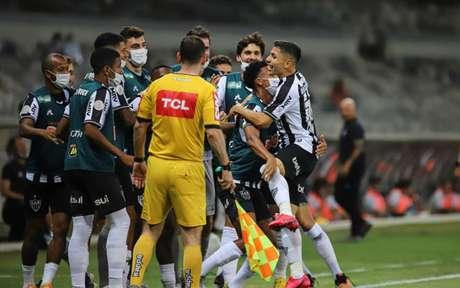 O Galo vem de uma goleada sobre o Vasco na rodada passada , tendo cinco pontos de vantagem sobre o vice-líder-Internacional -(Agência Galo / Atlético MG)