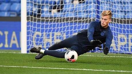 Ethan Wady é goleiro do Chelsea, sub-18