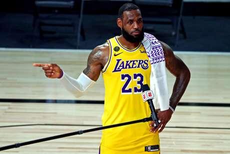 LeBron James está focado em conquistar o título para os Lakers