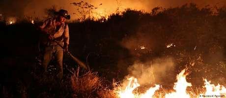 No Pantanal, 95% dos focos de calor deste ano ocorreram no período proibido