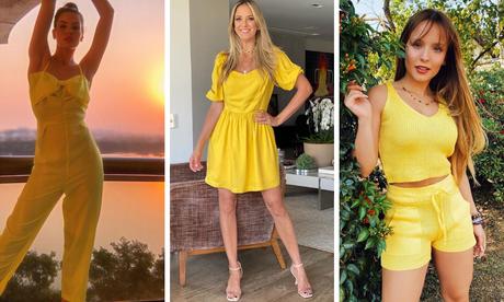 Famosas apostam em look todo amarelo (Fotos: Instagram/Reprodução)