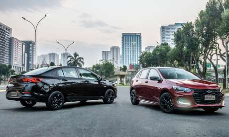 Onix Plus Midnight e Onix RS Turbo: Chevrolet agrega valor à família com séries especiais.