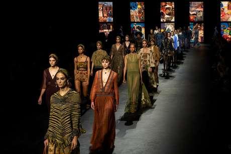Desfile Dior primavera-verão 2021 – Foto: Divulgação