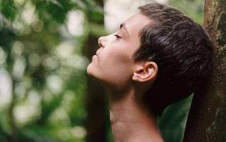 Respiração controlada é uma forma de relaxamento -