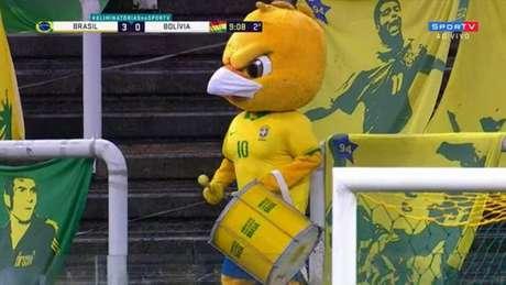Canarinho Pistola (Foto: Reprodução/SportTV)