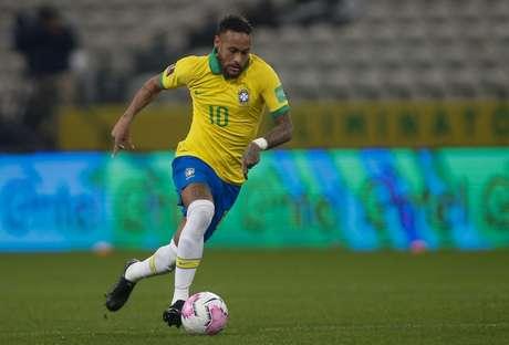 Neymar com espaço para arrancar: tônica da Seleção contra a Bolívia (Foto: Miguel Schincariol/CBF)