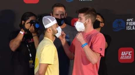 Luta principal do UFC Fight Island 5 terá encontro entre Marlon e Sandhagen (Foto: Reprodução/YouTube)