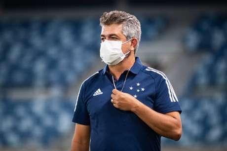 Ney Franco não resistiu a mais um resultado ruim da Raposa- (Bruno Haddad/Cruzeiro)