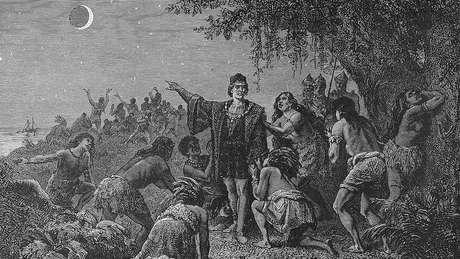 Houve um eclipse em 29 de fevereiro de 1504 e Colombo soube aproveitar dele para se salvar da fome