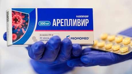 Na Rússia, entre outros países, o favipiravir está sendo usado para tratar pacientes com covid-19