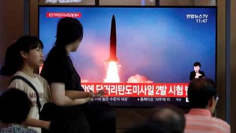 Coreia do Norte enfrenta sanções da ONU por causa de seu programa nuclear