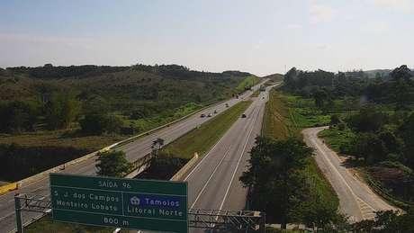 Km 95 da Rodovia Carvalho Pinto, em São José dos Campos
