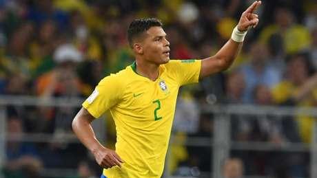 Thiago Silva chegou ao número de 123 convocações para a Seleção Brasileira (Foto:AFP)