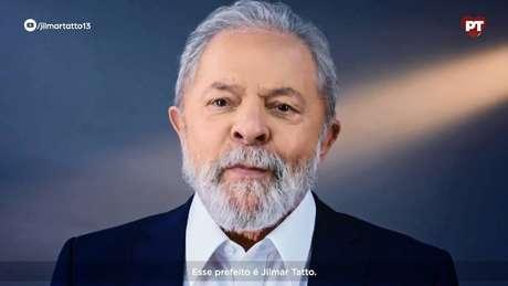 Vídeo de Lula em apoio a Jilmar Tatto