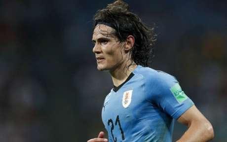 Cavani deve debutar na próxima terça-feira contra o seu ex-clube (Foto: AFP)