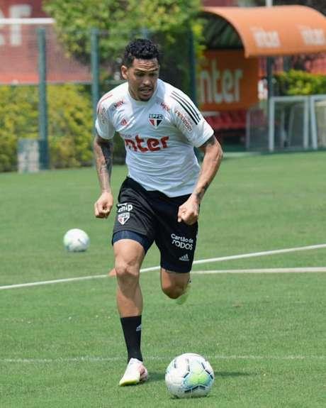 Luciano é o artilheiro do São Paulo no Brasileirão, com cinco gols marcados (Divulgação/ São Paulo)