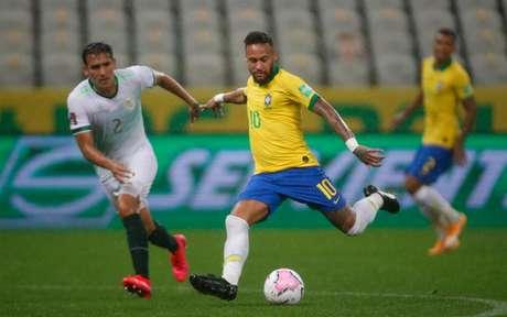 Apesar de não marcar, Neymar foi destaque contra Bolívia - Lucas Figueiredo/CBF