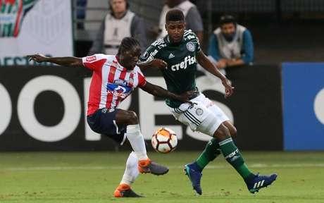 O zagueiro defendeu o Palmeiras no Allianz Parque em uma oportunidade (Foto: Cesar Greco/Ag. Palmeiras)