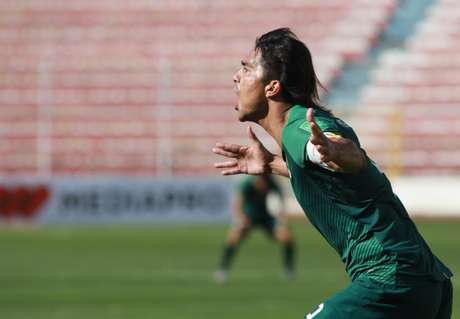 Moreno marcou contra a Argentina (Foto: Divulgação/Seleção Boliviana)