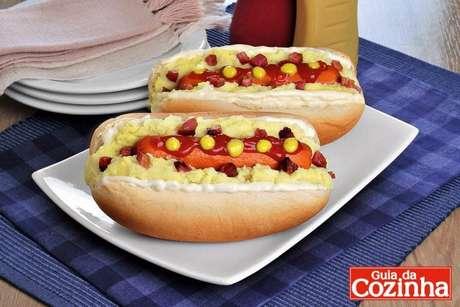 Guia da Cozinha - Cachorro-quente completo fácil e extremamente saboroso