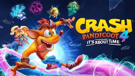 Crash Bandicoot 4: It's About Time está disponível para PS4 e Xbox