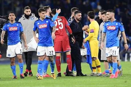 Napoli caiu para a oitava colocação da Série A
