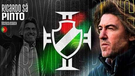 Ricardo Sá Pinto foi anunciado como novo técnico do Vasco