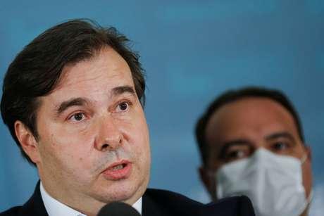 Rodrigo Maia, presidente da Câmara dos Deputados  03/09/2020 REUTERS/Adriano Machado