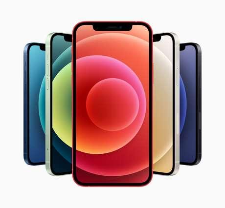 O design do novo Iphone 12, divulgado na última terça-feira, 13, pela Apple em evento online