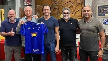 Felipão acertou o retorno do Cruzeiro