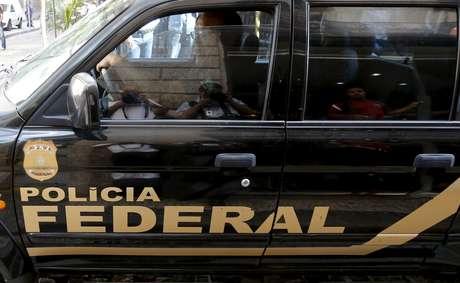 Viatura da Polícia Federal no Rio de Janeiro 28/07/2015 REUTERS/Sergio Moraes