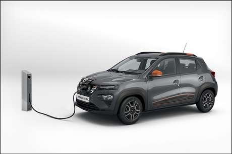 """Dacia Spring, o """"Kwid elétrico"""", terá alcance de 295 km na cidade e de 225 km no ciclo misto cidade/estrada."""