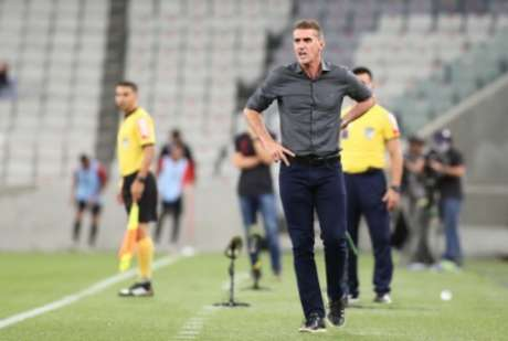 Vagner Mancini celebrou vitória (Foto: Rodrigo Coca/Ag. Corinthians)