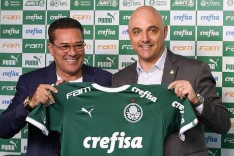 Luxemburgo encerra sua quinta passagem pelo Palmeiras (Foto: Fabio Menotti)