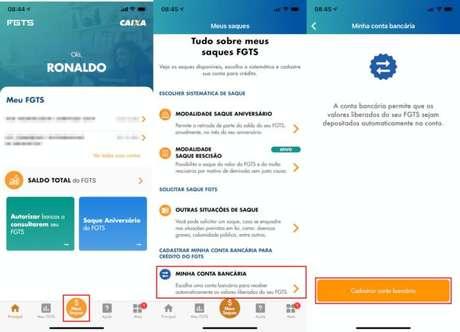 App FGTS (Imagem: CAIXA / Reprodução)