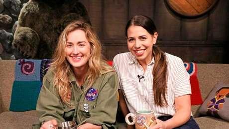 Ashley Johnson (à esquerda) e Laura Bailey (Imagem: Reprodução/Critical Role Wiki)