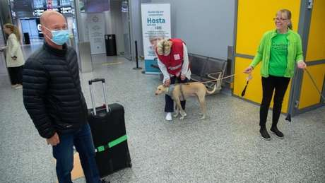 Finland is already using dogs at airports